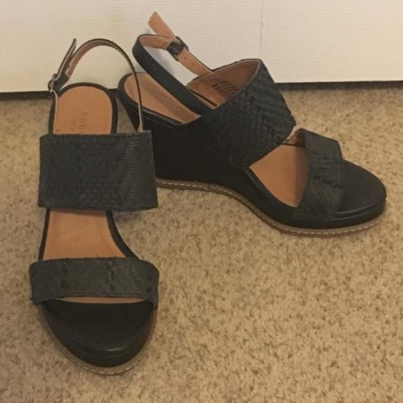 Sonoma Shoes | Kohls Sonoma Black Wedge